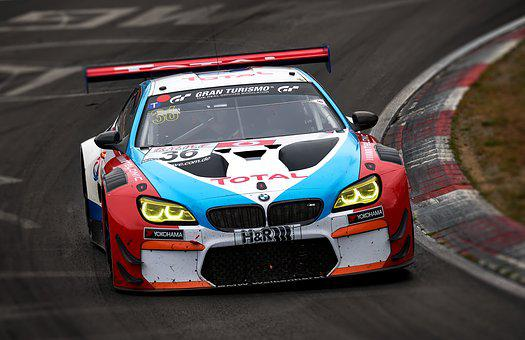 Bmw, Racing Car, Nürburgring, Nordschleife, Car Racing