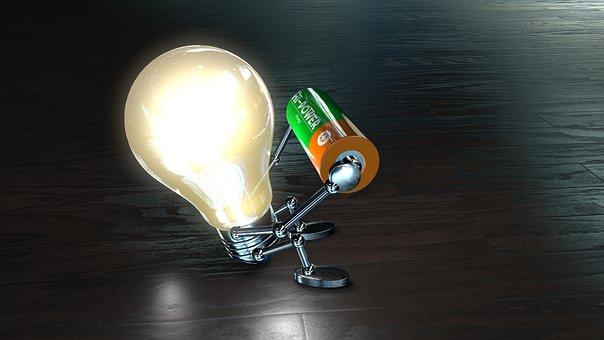 Lamp, Energy, Light, Current, Pear, Bulbs, Innovation