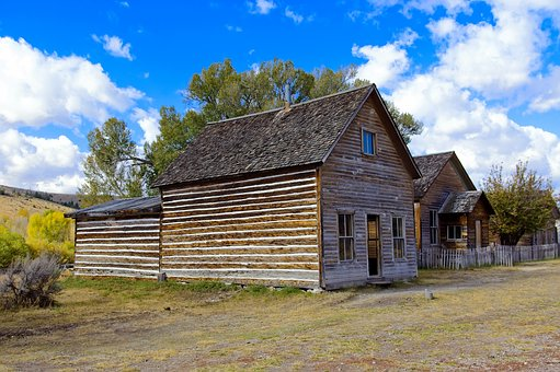 Bessette House, Bannack, State, Park, Montana, Historic