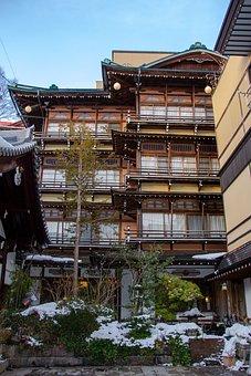 Bath House, Shibu Onsen, Japan, Japanese, Traditional