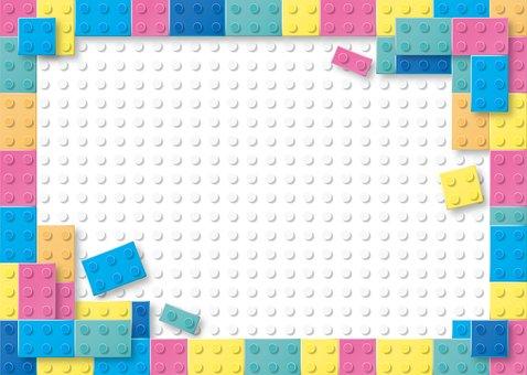 Lego, Pastel, Building Blocks, Children Background