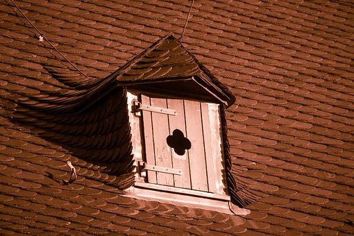 Luke, Dormer, Roof Hatch, Slate Roof, Slate