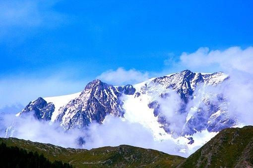 Mont Velan, Velan, Val D'aosta, Alps, Italy, Valais