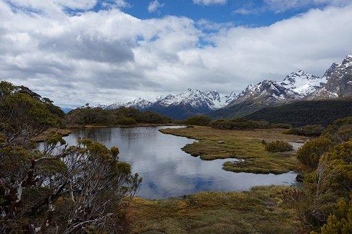 New Zealand, Nature, Mountains, Berge, Landscape