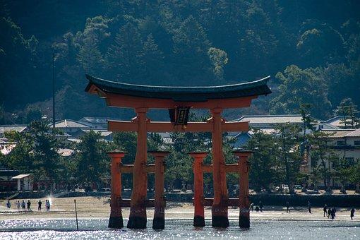 O-torii, Gate, Torii, Japan, Shrine, Japanese, Shinto