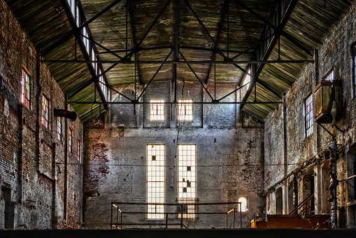 Lost Places, Old Factory, Pforphoto, Industrial Plant