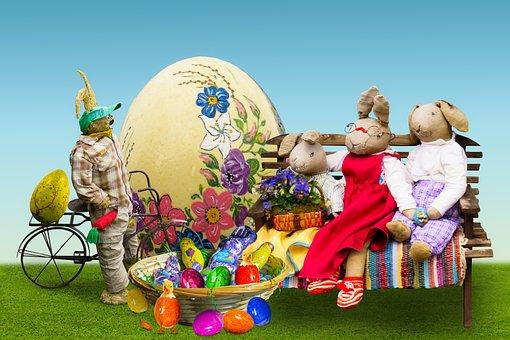 Easter, Happy Easter, Easter Nest, Osterkorb