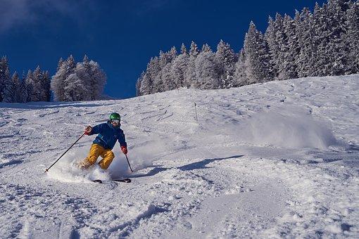 Skiing, Winter, Snow, Ski, Skiers, Sport, Wintry, Cold