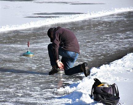 Floor Shoot, Curling Sport, Stick Sports, Curling
