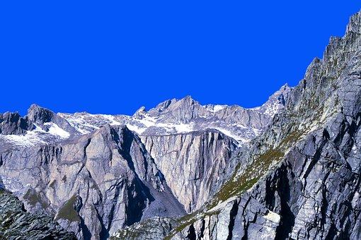 Gran San Bernardo, Alps, The Pennine Alps, Val D'aosta