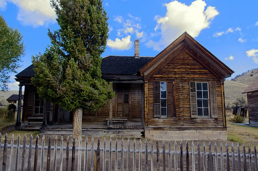 Bannack Roe-graves House, Bannack, Montana, Ghost, Town