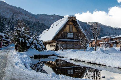 Shirakawa-go, Traditional, Japan, Gifu, Old, House