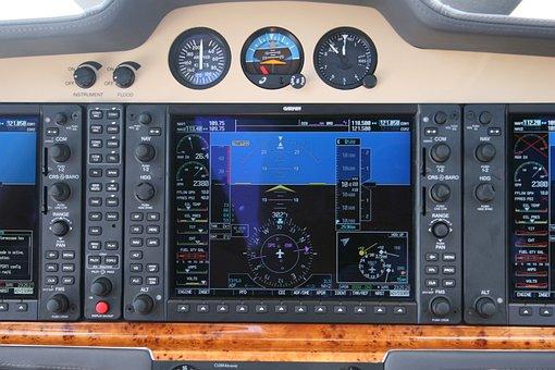 Airplane, Cockpit, Controls, Plane, Aircraft, Interior