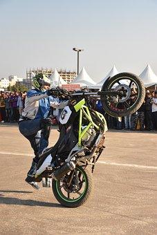 Bike, Stunt, Bike Stunt, Motorcycle, Motocross, Sport