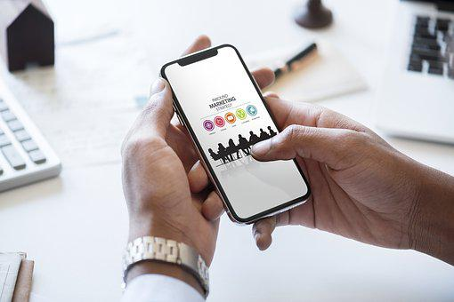 Application, Business, Businessman, Cellphone, Checking