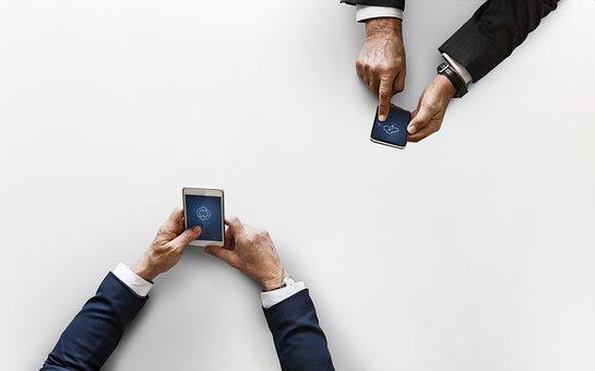 Cellphone, Cloud Network, Communication, Data