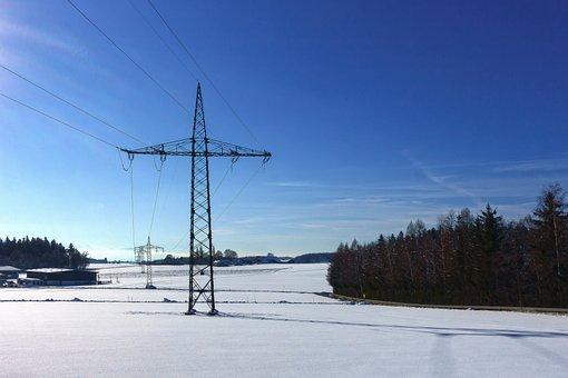 Winter, Snow, Cold, Landscape, Nature, Wintry, Sun