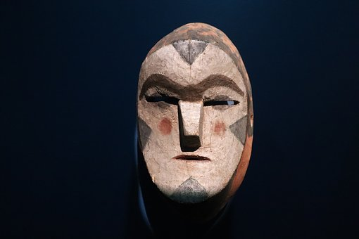 Mexican, Mask, Wood, Art, Decoration, Color, Mexico