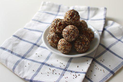 Energy Ball, Fruit, Dried Fruit, Seeds, Nuts, Dried