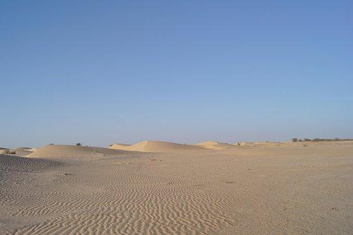 Desert, Sand, Dry, Landscape, Hot, Dunes, Sahara