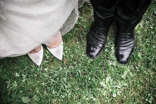 Wedding, Groom, Bride, Pair, Shirt, Celebration