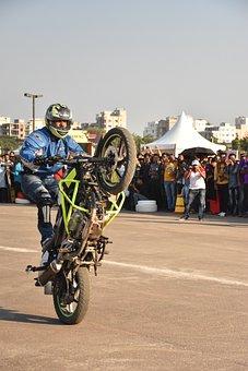 Bike, Stunt, Motorcycle, Motocross, Sport, Bicycle, Man
