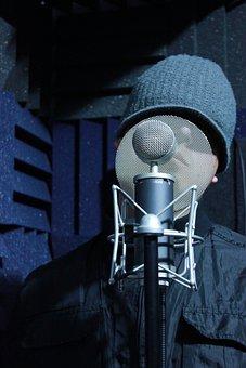 Studio, Recording, Sound, Audio, Music, Microphone