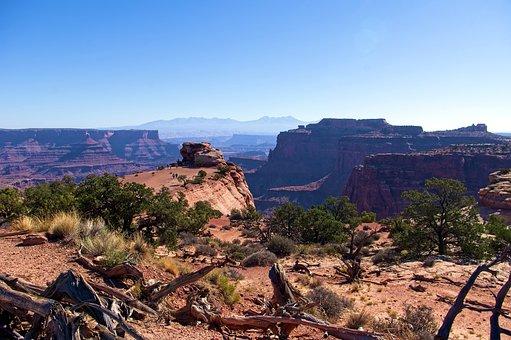 Canyon, National, Park, Utah, Erosion, Landscape