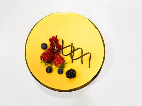 Cake, Strawberry, Cheesecake, Food, Dessert, Pie
