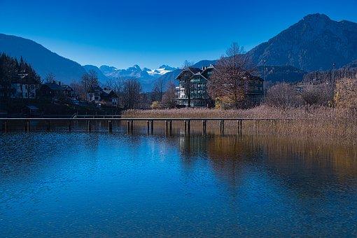 Aussersee, Styria, Lake, Landscape, Austria, Water