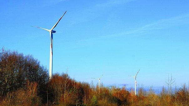 Pinwheel, Wind Energy, Wind Power, Sky