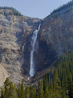 Takakkaw Falls, Yoho National Park, Canada, Rockies