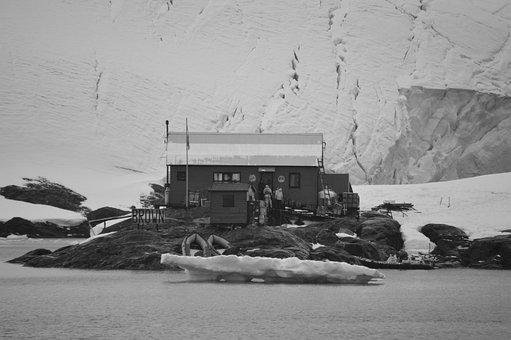 Refuge, Brown, Base, Antarctica, Nature, Scientific