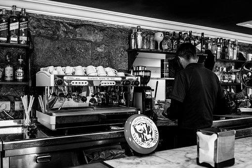 Bar, Espresso, Cafe, Coffee Cup, Coffee, Drink
