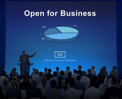 Announcement, Audience, Beginning, Business