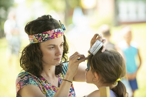 Makeup, Festival, Birthday, Celebration, Women
