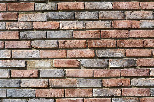 Brick, Wall, Texture, Pattern, Red, Orange, Background