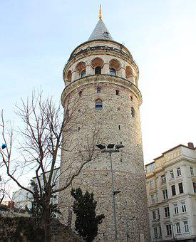 Galata, Galata Tower, Turkey, Istanbul, Throat, Cami