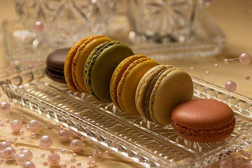 Macarons, Cookies, Macro, Pastries, Sweetness