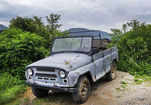 Uaz Hunter, Made In Russia, 4x4, Four Wheel Drive, Jeep