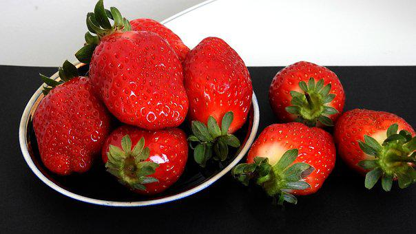 Strawberry, Berry, Fresh, Ripe, Fragrant, Color, Red