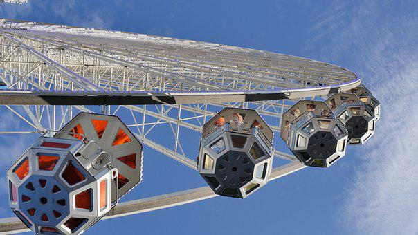 Anna Kirmes, Fair, Year Market, Ferris Wheel, Gondolas