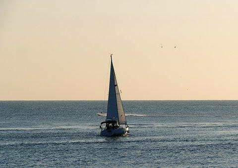 Ship, Ferry, Sea, Cruise, Blue, Holiday, Holidays