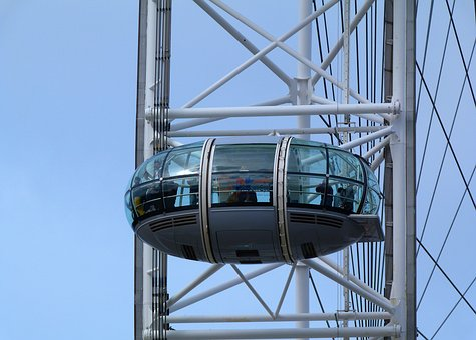 Architecture, London Eye, Pod, Wheel, Observation