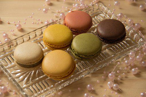Macarons, Cookies, Still Life, Macro, Pastries