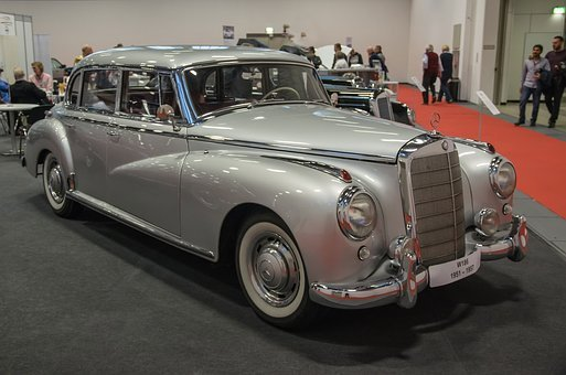 Mercedes, Adenauer, W186, Luxury Car, State Karosse