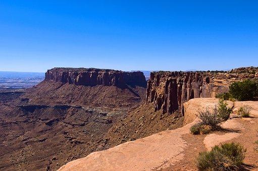 Canyonlands Grand View, Mesa, Canyonlands, National