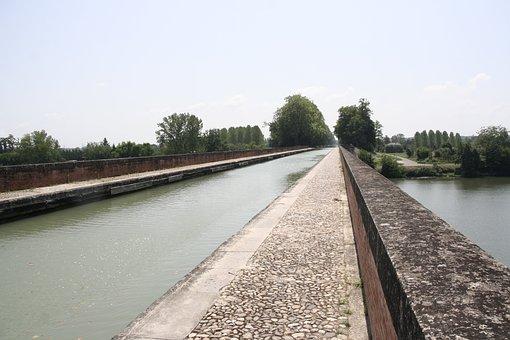 Aqueduct, Channel, Navigation, Bridge, Travel, Water