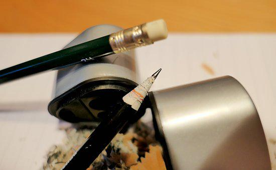 Spitzer, Pencil, Write, Draw, Pen, Paper
