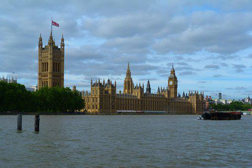 London, Palace Of Westminster, Parliament, Architecture